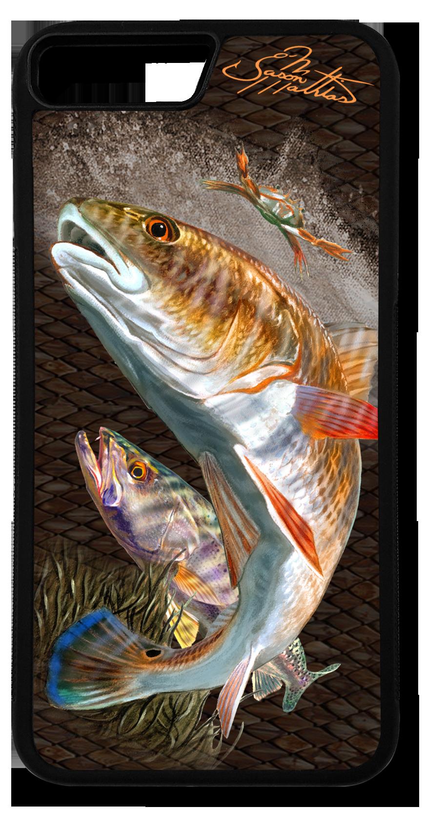iphone-8-plus-case-redfish-trout-jason-mathias-art.png