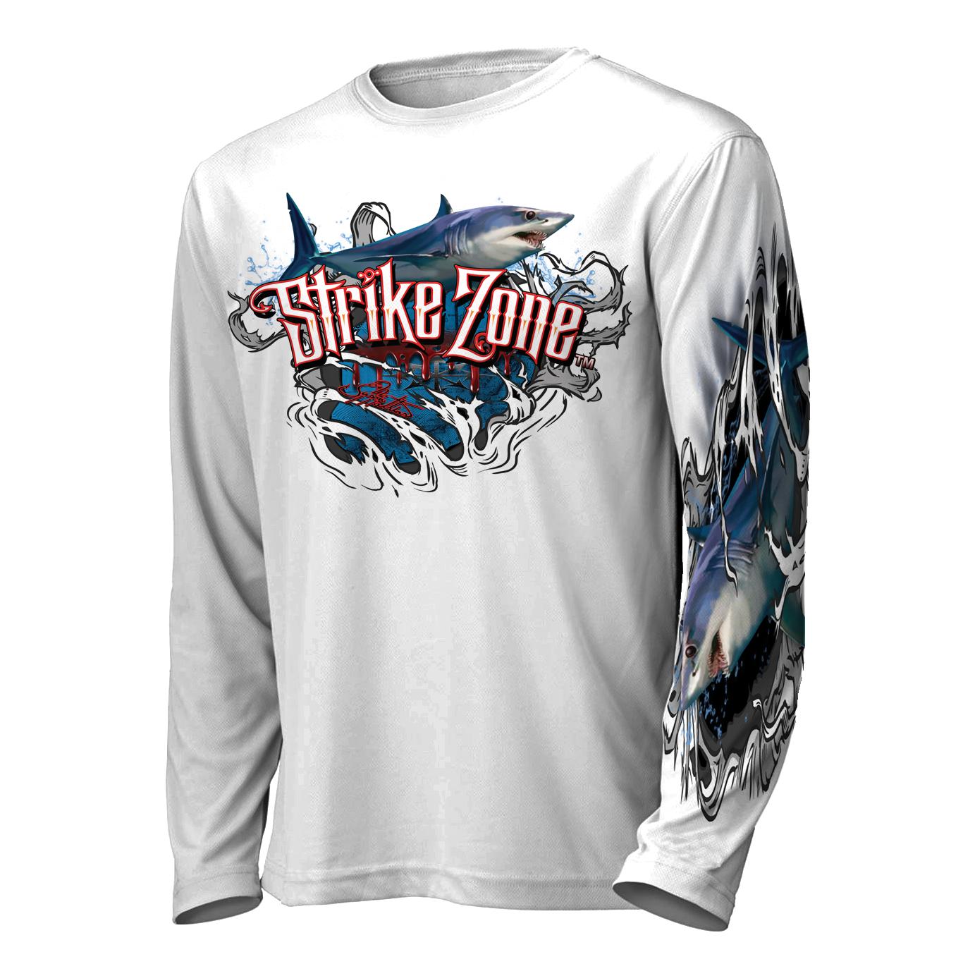 jason-mathias-strike-zone-mako-shark-fishing-shirt-front-white.png