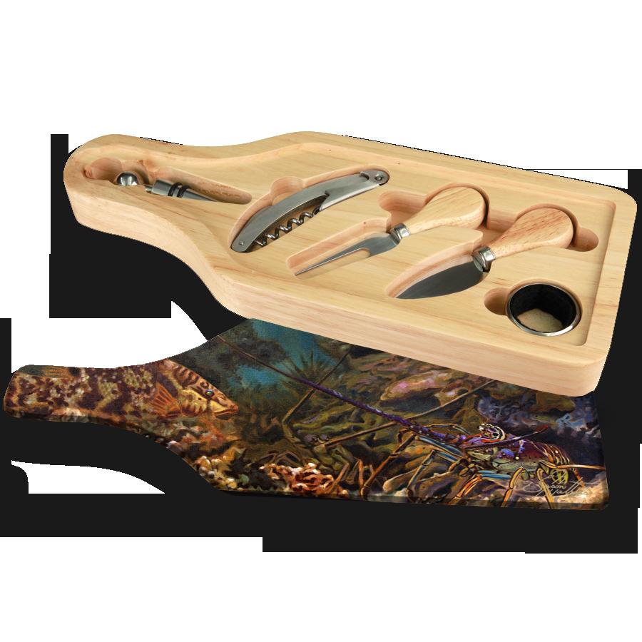 wine-cheese-set-hogfish-lobster-reef-painting-jason-mathias.png